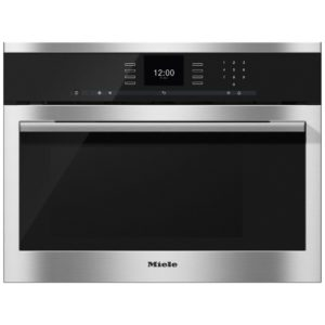 Miele DGM6500CLST 60cm Built In Compact Steam Oven & Microwave - STAINLESS STEEL