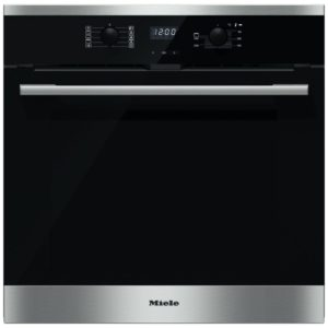 Miele H2566BPCLST Built In Pyrolytic Multifunction Single Oven – STAINLESS STEEL