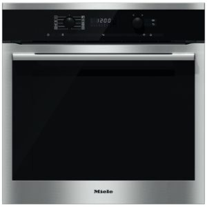 Miele H6160BPCLST Built In Pyrolytic Single Oven with Moisture Plus - STAINLESS STEEL