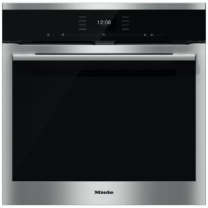 Miele H6560BPCLST Built In Pyrolytic Single Oven with Moisture Plus – STAINLESS STEEL