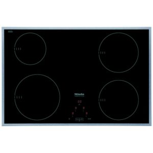 Miele KM6118 76cm Four Zone Induction Hob - STAINLESS STEEL