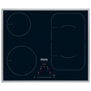 Miele KM6322 61cm Four Zone PowerFlex Induction Hob - STAINLESS STEEL