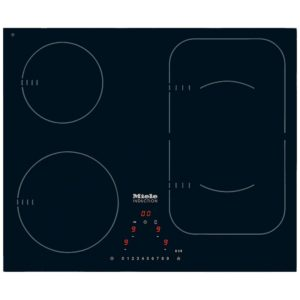 Miele KM6323 59cm Four Zone PowerFlex Induction Hob – BLACK