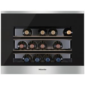 Miele KWT6112IGED 45cm Integrated In Column Wine Cooler - STAINLESS STEEL