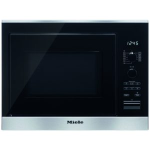 Miele M6022SCCLST 50cm Built In Microwave & Grill For Wall Unit – STAINLESS STEEL