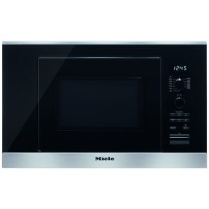 Miele M6032SCCLST 60cm Built In Microwave & Grill For Wall Unit - STAINLESS STEEL