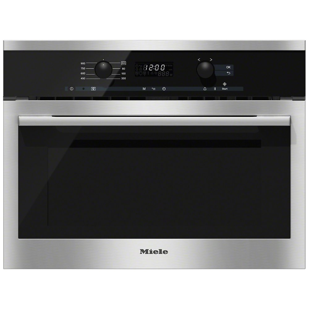 Miele M6160tcclst 60cm Built In Microwave Oven For Tall