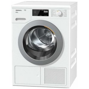 Miele TCF620WP 8kg T1 Heat Pump Condenser Tumble Dryer - WHITE
