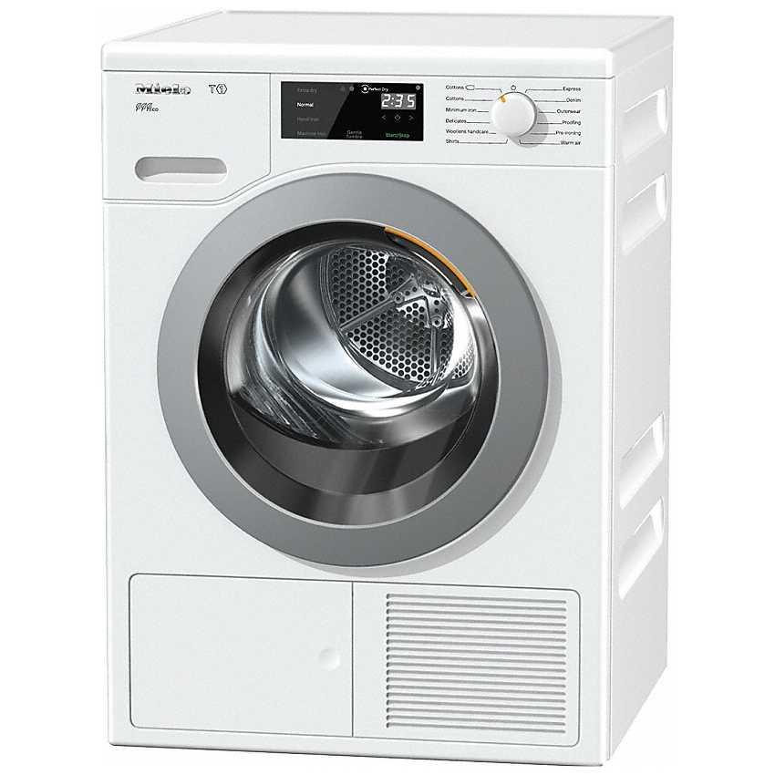 Miele Tcf620wp 8kg T1 Heat Pump Condenser Tumble Dryer