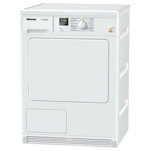 Miele TDA150C 7kg Condenser Tumble Dryer With Inclined Facia – WHITE