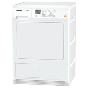 Miele TDA150C 7kg Condenser Tumble Dryer With Inclined Facia - WHITE