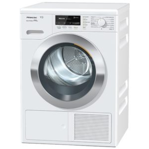 Miele TKG840WP 8kg T1 Heat Pump Condenser Tumble Dryer - WHITE