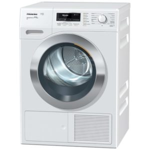 Miele TKR850WP 9kg T1 Steam Heat Pump Condenser Tumble Dryer - WHITE