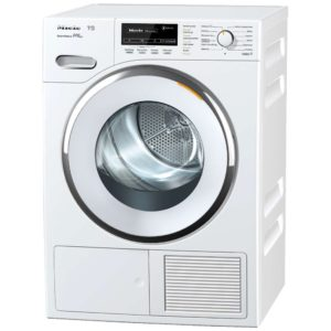 Miele TMG840WP 8kg T1 Steam Heat Pump Condenser Tumble Dryer - WHITE