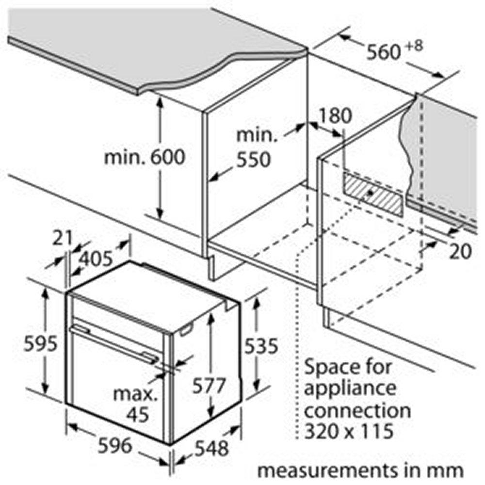 Neff B47cr32n0b Slide Amp Hide N70 Multifunction Single Oven