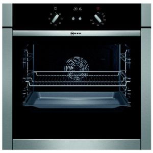 Neff B44M42N5GB Slide & Hide CircoTherm Single Oven - STAINLESS STEEL