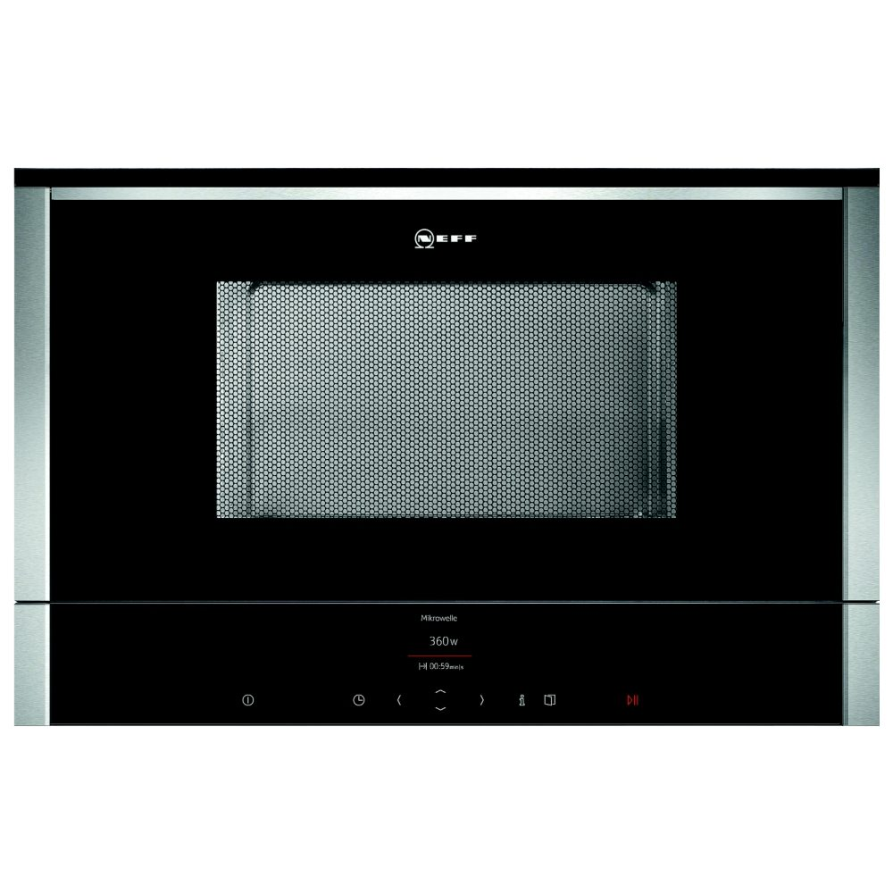 Neff C17wr01n0b 60cm Built In Microwave For Wall Unit
