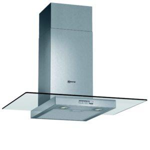 Neff D87ER22N0B 70cm Flat Glass Chimney Hood – STAINLESS STEEL