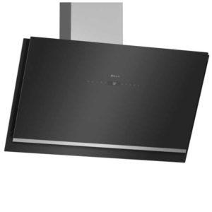 Neff D96IKW1S0B 90cm Angled Chimney Hood – BLACK