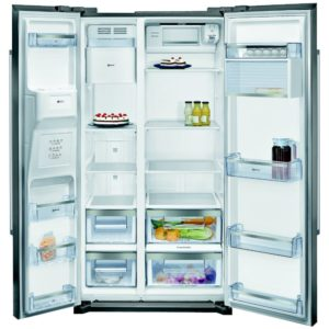 Neff KA3902I20G American Fridge Freezer With Ice And Water - STAINLESS STEEL