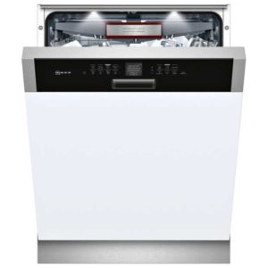Neff S416T80S0G 60cm Semi Integrated Dishwasher - STAINLESS STEEL