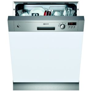 Neff S41E50N1GB 60cm Semi Integrated Dishwasher - STAINLESS STEEL