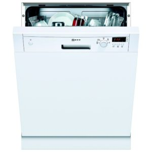 Neff S41E50W1GB 60cm Semi Integrated Dishwasher – WHITE