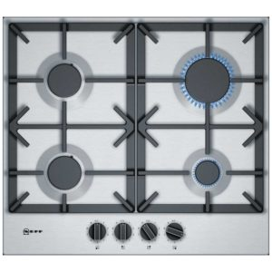 Neff T26DS49N0 60cm 4 Burner FlameSelect Gas Hob – STAINLESS STEEL