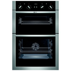 Neff U14M42N5GB CircoTherm Built In Double Oven - STAINLESS STEEL