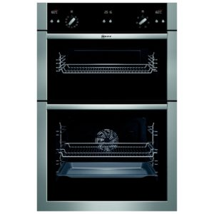 Neff U15E52N5GB CircoTherm Series 3 Built In Double Oven - STAINLESS STEEL