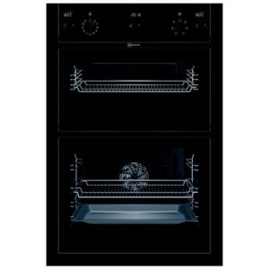 Neff U15E52S5GB CircoTherm Series 3 Built In Double Oven - BLACK