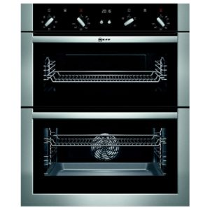 Neff U17M42N5GB CircoTherm Built Under Double Oven - STAINLESS STEEL