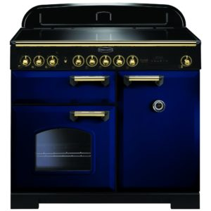 Rangemaster CDL100EIRB/B Classic Deluxe 100cm Induction Range Cooker 114020 – BLUE