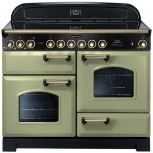 Rangemaster CDL110ECOG/B Classic Deluxe 110cm Ceramic Range Cooker 114590 – OLIVE GREEN