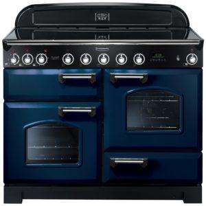 Rangemaster CDL110EIRB/C Classic Deluxe 110cm Induction Range Cooker 113090 – BLUE