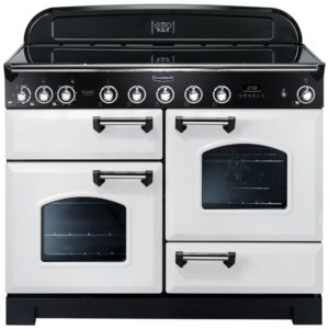 Rangemaster CDL110EIWH/C Classic Deluxe 110cm Induction Range Cooker 113110 – WHITE
