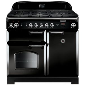Britannia RC-10XGG-DE-RED 100cm Delphi XG Dual Fuel Range Cooker – RED