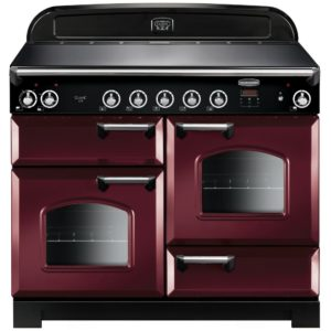 Rangemaster CLA110EICY/C Classic 110cm Induction Range Cooker 117050 – CRANBERRY