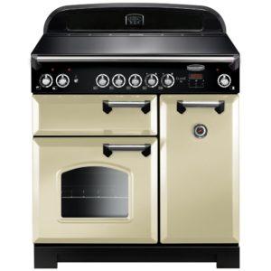 Rangemaster CLA90ECCR/C Classic 90cm Ceramic Range Cooker 117430 - CREAM
