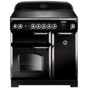 Rangemaster CLA90EIBL/C Classic 90cm Induction Range Cooker 116940 – BLACK
