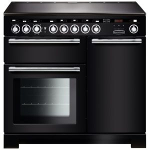 Rangemaster EDL100EIBL/C Encore 100cm Deluxe Induction Range Cooker 117340 – BLACK