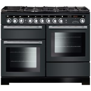 Stoves STERLING S900DFBK 4481 Sterling 90cm Dual Fuel Range Cooker – BLACK