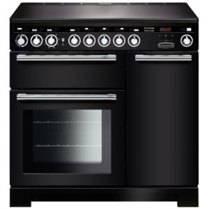 Rangemaster EDL90EIBL/C Encore 90cm Deluxe Induction Range Cooker 117300 – BLACK