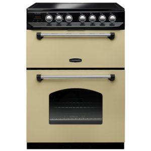 Rangemaster CLAS60ECCR/C Classic 60cm Ceramic Cooker 107340 – CREAM