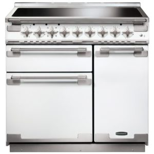 Rangemaster ELS90EIWH Elise 90cm Induction Range Cooker 107940 - WHITE