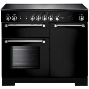Rangemaster KCH100ECBL/C Kitchener 100cm Ceramic Range Cooker 112820 - BLACK