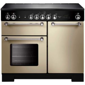 Rangemaster KCH100ECCR/C Kitchener 100cm Ceramic Range Cooker 112840 – CREAM