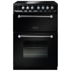 Rangemaster KCH60ECBL/C 60cm Kitchener Electric Ceramic Cooker - BLACK