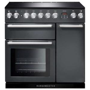 Rangemaster NEX90EISL/C Nexus 90cm Induction Range Cooker 106180 - SLATE