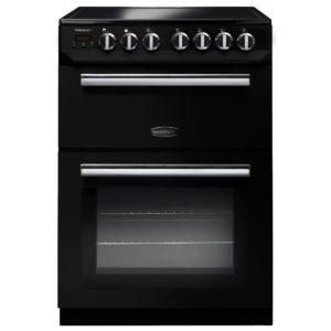 Rangemaster PROP60ECBL/C Professional Plus 60cm Ceramic Cooker 107290 – BLACK